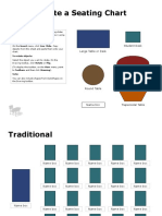 Seating Chart Templates 1
