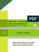 Clase Sedación y Analgesia en Emergencia 2018