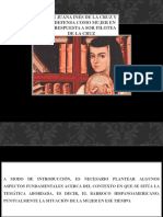 Sor Juana Inés de La Cruz y Su Defensa