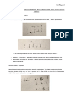 dotted eighth note document