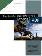 Transporte de Cargas Nas Hidrovias Brasileiras 2015 TKU