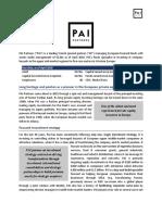 PE Ecosystem - PAI Partners