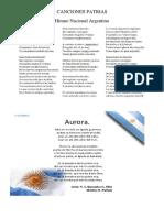 canciones patrias argentinas