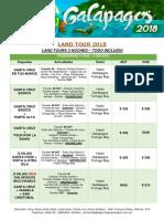 LAND TOUR 4 y 5 DIAS TARIFAS 2018 - OPERADORA TORTUGA BAY.docx