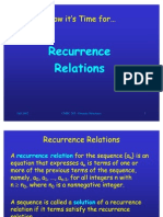 Recurrence