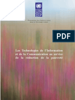Les Technologies de l'Information et de la Communication au service de la réduction de la pauvreté (UNDP-APDIP 2004)