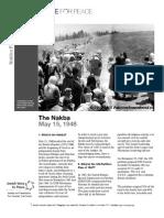 Nakba Factsheet