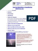 1-Protecciones de Disturbios y Transitorios Eléctricos En