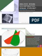 stereonet geologi struktur