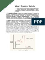 Cinética y Dinámica Química