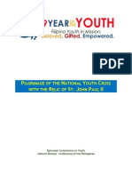 2019 Year of the Youth Pilgrimage of the National Youth Cross and Relic of St. John Paul II