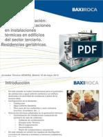 Microcogeneración en el Sector Terciario - Jaume Alcover - Baxi Calefacción