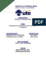 COMPETENCIA Y ATRIBUCIONES DE LA JURISDICCIÓN INMOBILIARIA.docx