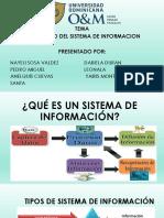 DIAPOSITIVA SOBREDESARROLLO DEL SISTEMA DE INFORMACION