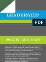 Leaderships Styles