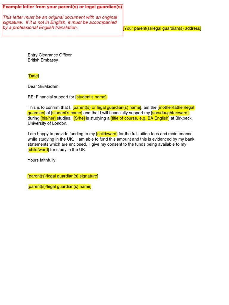 example-letter-parent pdf