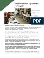 Unas 150 mypes mejoran sus capacidades productivas en Huaycán.docx
