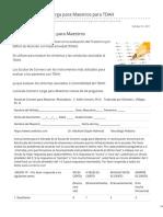 Cerebrito.com-Escala de Conners Larga Para Maestros Para TDAH