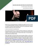 Steve Jobs Presentaciones Exitosas