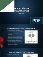 Semana III OPERACIÓN DEL TRANSISTOR.pdf