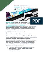 La cadena logística de Amazon.docx