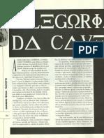 Alegoria Da Caverna - Blog