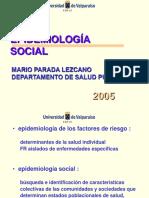 Clase 17 - Epidemiologia Social 2