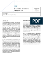 Proposal for a vehicle level test procedure to measure air conditioning fuel use