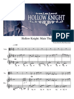 Hollow Knight Main Theme