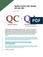 assurance quality dan quality control.docx