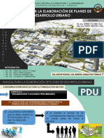 Manual Plan Del Desarrollo Urbano