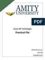 VB.net practical file