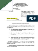 Urgent Motion to Reset Hearing (MTC 44).docx