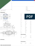 Soportes de pie de dos piezas  series SNL y SE para rodamientos montados sobre un asiento cilíndrico  con sellos estándares-FSNL 517 + 2314