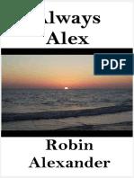 Robin Alexander Siempre Alex
