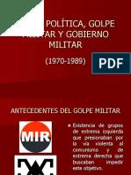 Crisis, Golpe y Régimen Militar