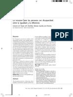 Fernandez Inclusion PCD Igualdad diferencia.pdf