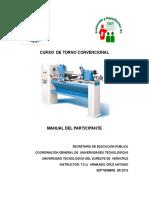 107209718 Manual Del Participante Torno Convencional