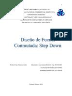 Trabajo de Fuentes conmutadas (Step Down) - copia.docx