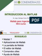 Mod1 Intro a Matlab