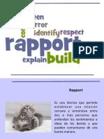 Como realizar rapport