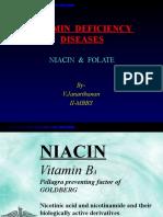 Vitamin Deficiency Diseases - Niacin