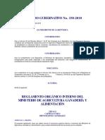 Reglamento 338-2010