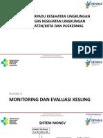 Materi 6 Monitoring Dan Evaluasi Kesling Orientasi Terpadu 2017_nk_12042017