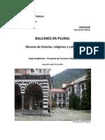 Balcanes en Plural - Mosaico de Historias, Religiones y Culturas