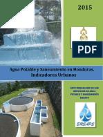 Indicadores Urbanos Agua Potable y Saneamiento en Honduras_2015