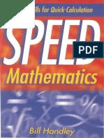 Speed Mathematics - Secret Skills for Quick Calculation
