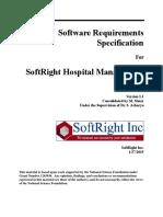 EM SRS ReviewSoftRightHospitalManagementSystemSRS