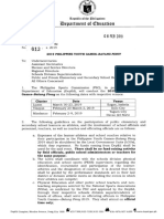 Bp2019 Deped Memorandum(1)