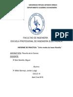 OCHO MANERAS DE HACER FILOSOFIA